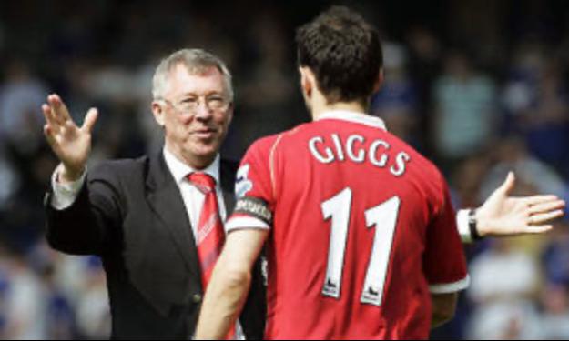 Alex Ferguson, entrenador de fútbol del Manchester United