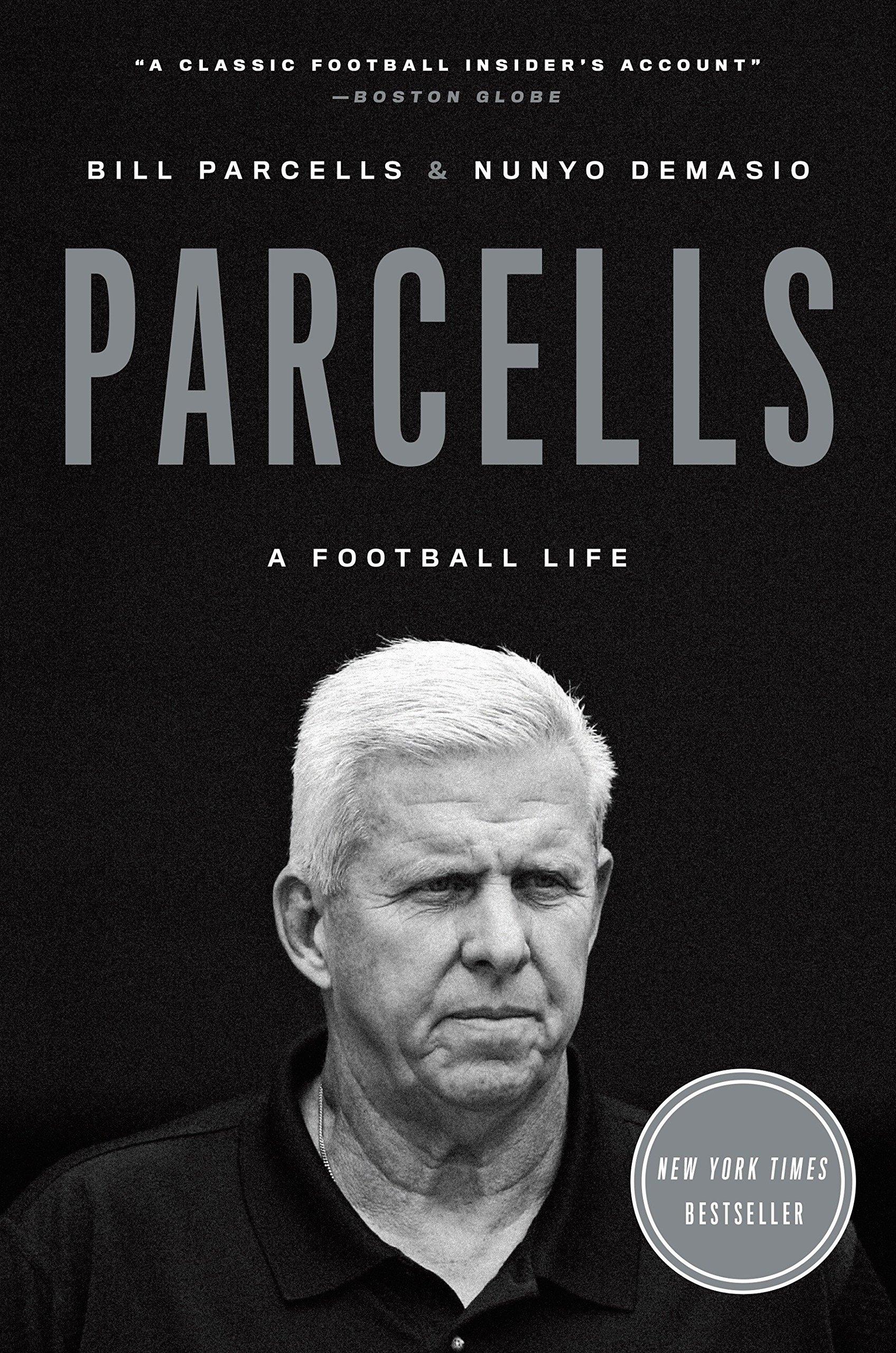 """Portada del libro """"A Football life"""" de Bill Parcells"""