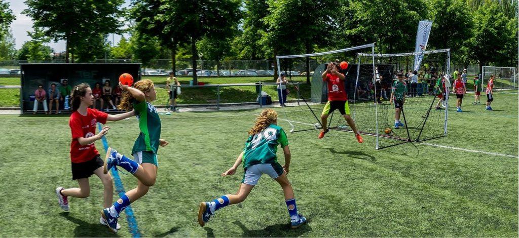 Equipo juvenil femenino de balonmano